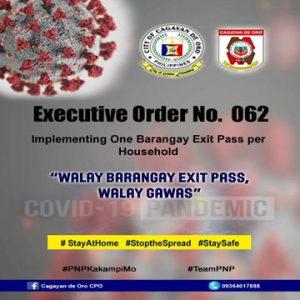 exit pass copy